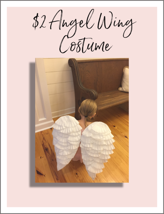 DIY angel costume for $2