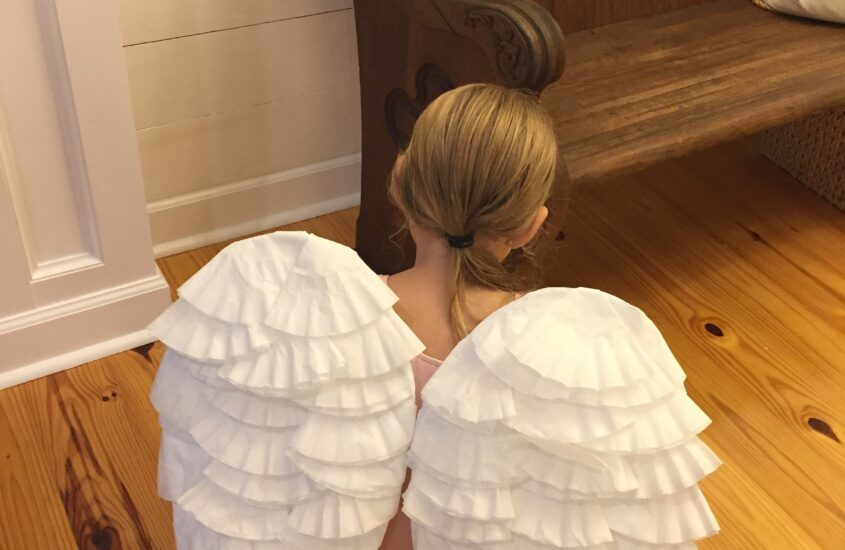 making Angel wings for $2